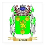 Rennell Square Car Magnet 3