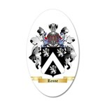 Renne 20x12 Oval Wall Decal