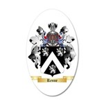 Renne 35x21 Oval Wall Decal