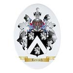 Renisch Oval Ornament