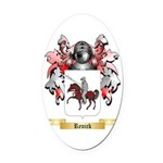 Renick Oval Car Magnet