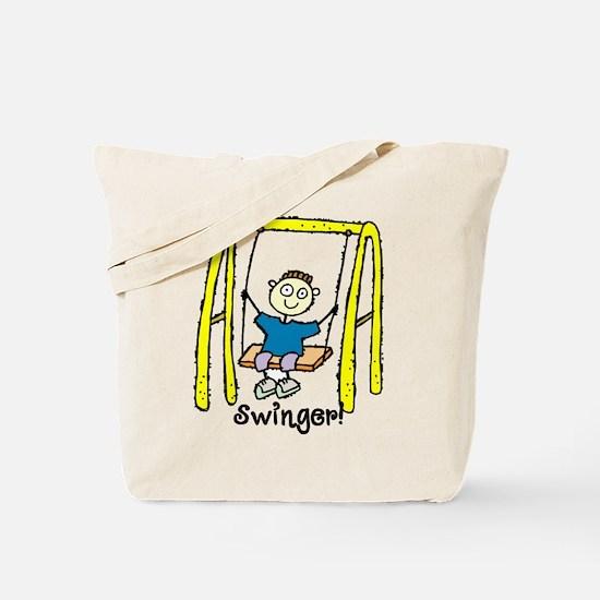 Swinger Swing Set! Tote Bag