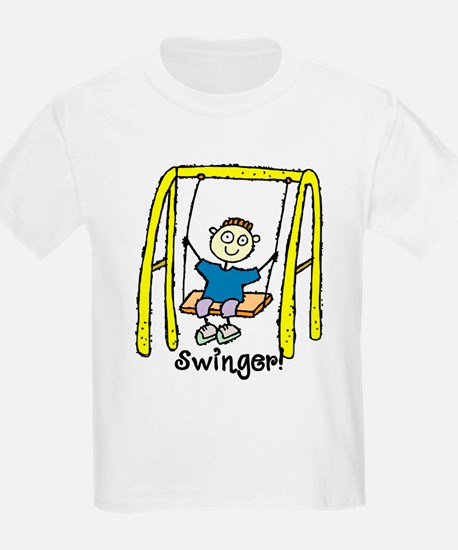 Swinger Swing Set! T-Shirt