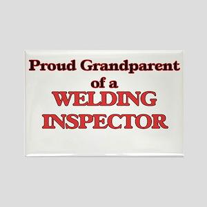 Proud Grandparent of a Welding Inspector Magnets