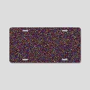 Purple Rainbow Rocaille Seed Beads Aluminum Licens