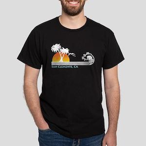 San Clemente California Dark T-Shirt