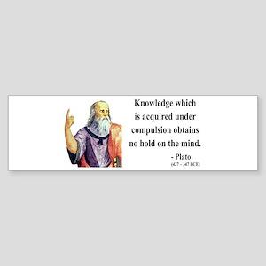 Plato 21 Bumper Sticker