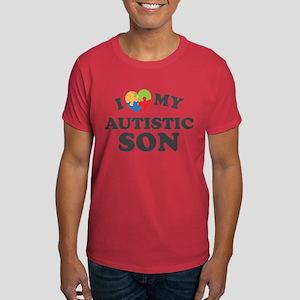 Love My Autistic Son Dark T-Shirt