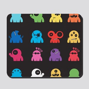 Cute Monsters Mousepad