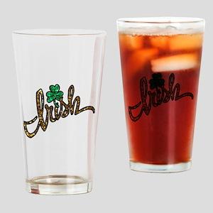 irish clover shamrock Drinking Glass
