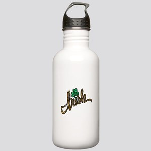 irish clover shamrock Stainless Water Bottle 1.0L