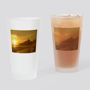 Ipanema beach Drinking Glass