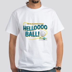 The Honeymooners: Helllooo Ball White T-Shirt