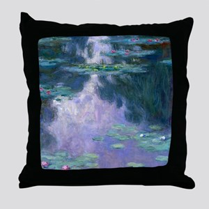 Water Lilies (Nympheas) 1907 Throw Pillow