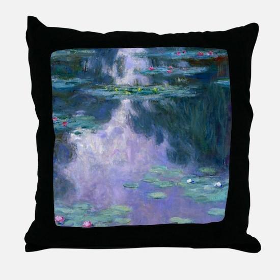 Water Lilies (Nympheas) 1907 Throw Pillow