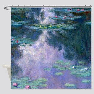 Water Lilies (Nympheas) 1907 Shower Curtain