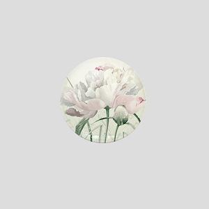 Beautiful Peony Mini Button