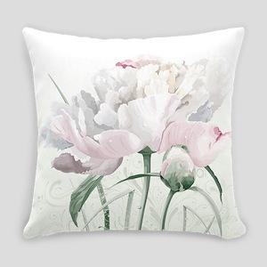 Beautiful Peony Everyday Pillow