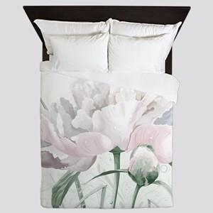 Beautiful Peony Queen Duvet