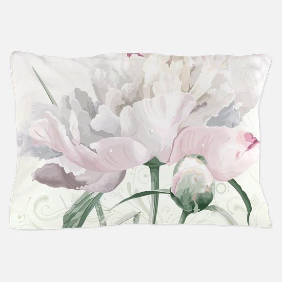 Beautiful Peony Pillow Case