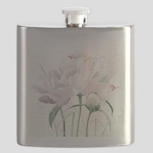 Beautiful Peony Flask