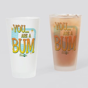 The Honeymooners: You Are A Bum Drinking Glass