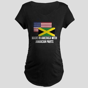 Jamaican Parts Maternity T-Shirt