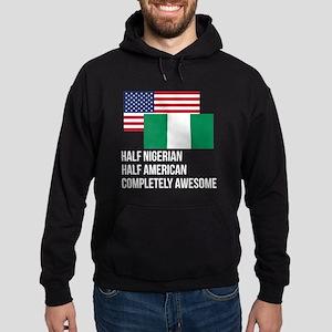 Half Nigerian Completely Awesome Hoodie
