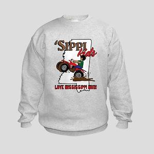 'Sippi Kids <3 Mississippi Mud Sweatshirt