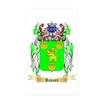 Renaux Sticker (Rectangle 50 pk)