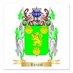 Renaut Square Car Magnet 3