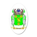 Renaut 20x12 Oval Wall Decal
