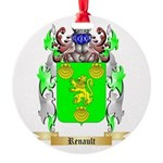 Renault Round Ornament