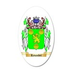 Renaudet 20x12 Oval Wall Decal