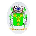 Renaudet Oval Ornament