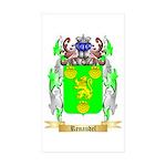 Renaudel Sticker (Rectangle 50 pk)