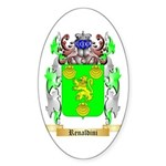 Renaldini Sticker (Oval 50 pk)