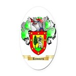 Remmers Oval Car Magnet