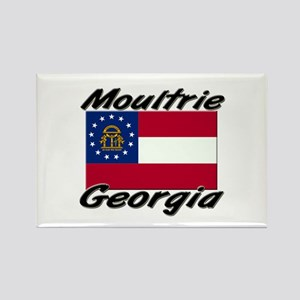 Moultrie Georgia Rectangle Magnet