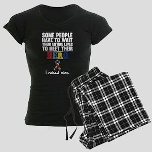 Autistic Hero Women's Dark Pajamas