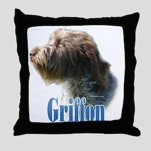 WireGriffName Throw Pillow