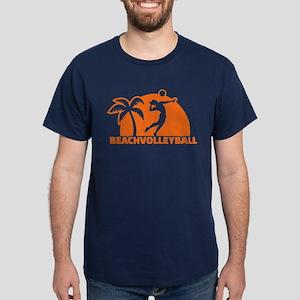 Beachvolleyball Dark T-Shirt