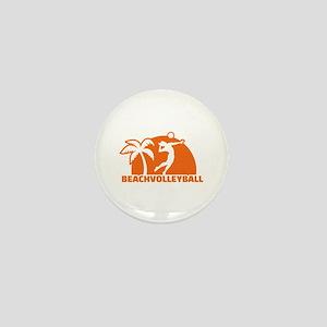Beachvolleyball Mini Button