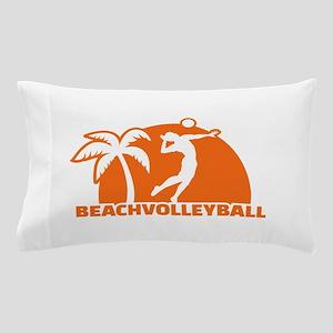 Beachvolleyball Pillow Case