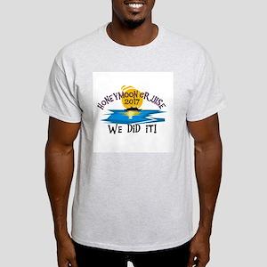 Honeymoon Cruise 2017 Light T-Shirt