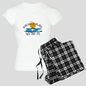 Honeymoon Cruise 2017 Women's Light Pajamas