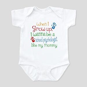 School Psychologist Like Mommy Infant Bodysuit