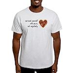 Pizza, Not Negativity Light T-Shirt