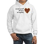 Pizza, Not Negativity Hooded Sweatshirt
