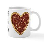 Pizza, Not Negativity Mug